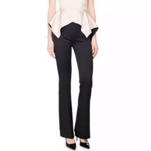 NEW Ann Taylor Loft Black Marisa Satin Trousers